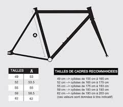 Fixed Gear Bike Frame Size Chart Fixie Singlespeed Frame Size Guide