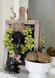 spring wreath for front door11 MustTry Spring Wreaths For Your Front Door  House by Hoff