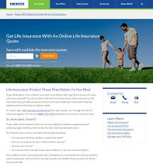 geico life insurance quote homean quotes