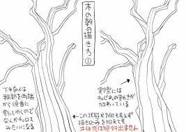 篠房六郎 On Szkice 木 書き方木イラストスケッチの描き方