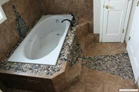 attractive best glamorous collection river rock tile bathroom floor river rock bathroom floor tile floor tile