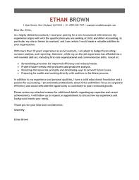 Sample Accountant Cover Letter Resume Cover Letter