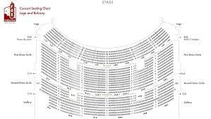 Unusual Fox Atlanta Seat Map Proctors Theater Seating Chart