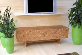 design trends cork media console by michael iannone from iannone design yliving modern