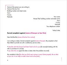 Letters Of Complaint 16 Sample Complaint Letters Writing Letters Formats
