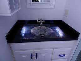 glass vanity sink countertop combo canandaigua ny