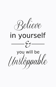 Believe In Yourself Quotes Amazing Believe In Yourself Quote