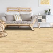 Grain Wood Yellow Self Adhesive Floor ...
