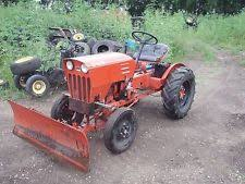 power king tractor economy power king 1614 14 hsp tractor blade runs works fine in mn