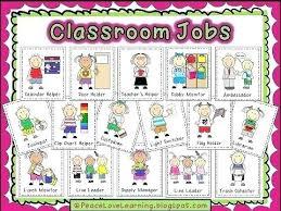 Child Organizer Job Chart Preschool Classroom Job Chart Printables Www