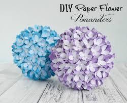 Diy Paper Flower How To Make A Paper Flower Pomander Kissing Ball Diy Wedding