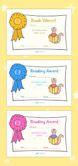 Free Award Certificates Free Printable Editable Reading Award Certificates Pinteres 24