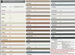 Mapei Grout Colors Online Charts Collection