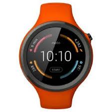 motorola smartwatch. motorola moto 360 sport smartwatch orange