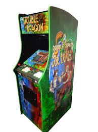 1942 Arcade Cabinet Double Dragon Arcade Machine Williams Amusements