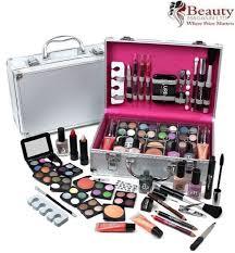 urban beauty make up set vanity case 60pcs cosmetics collection carry box