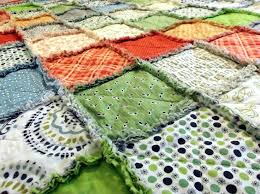 33 best i rag quilt - for sale images on Pinterest | Blankets, Rag ... & Rag Blanket for Adult Teen or Child - Bicycles and Kite Tails Quilt Adamdwight.com