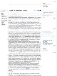 Crisis Of The Seventeenth Century Historian Revolutions