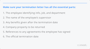 It then becomes the basis of the employment relationship. How To Write An Employment Termination Letter Covid 19 Templates Included Comeet