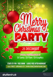 christmas party flyer vector template shutterstock christmas party flyer vector template preview save to a lightbox