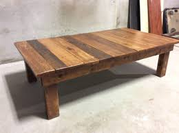 reclaimed wood coffee table diy all furniture unique round plans oval rustic top square uk build
