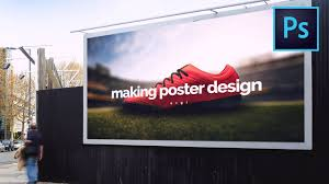 advertising manipulation photo manipulation make a soccer shoe  photo manipulation make a soccer shoe advertising poster in photo manipulation make a soccer shoe advertising