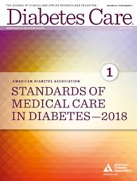 4 Lifestyle Management Standards Of Medical Care In Diabetes2018