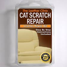 details about tlc leather cat scratch repair kit easy to use complete with filler colour