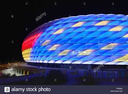 Bayern Munich Stadium Lights Munich Germany 22nd Sep 2018 Special Lighting Of The