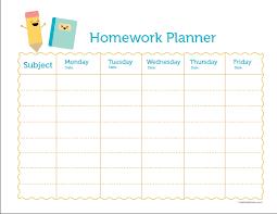 Free Homework Planner Homework Planer Hashtag Bg