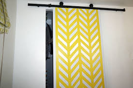 a modern diy closet door with chevrons a lightweight door using with clear gorilla glue