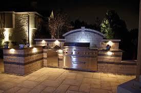 outdoor kitchen lighting. Independence, Ohio \u2013 Outdoor Kitchen With Lighting T