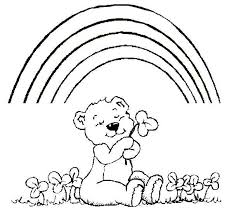 Small Picture Rainbow Coloring Pages For Kids Printable Lock Screen Coloring