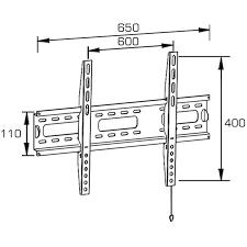 universal flat screen tv wall mount