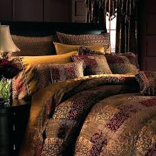 galleria red bedding collection and brown black 7 piece comforter set in brown red
