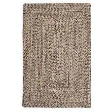 wesley weathered brown 3 ft x 5 ft braided indoor outdoor area rug