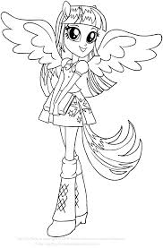 Equestria Girls Coloring Pages My Little Pony Girls Coloring Pages