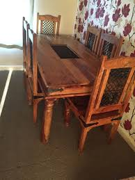 john lewis maharani dining table and 6 chair rrp 1550