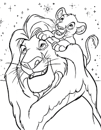 disney coloring pages for kids. Unique Kids Disney Coloring Pages Mufasa Simba Walt Characters Photo  Thingkid Throughout Disney Coloring Pages For Kids R