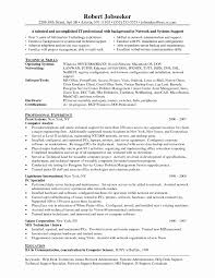 Application Support Analyst Sample Resume Unique Chic It Support
