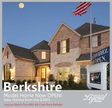 Berkshire Fort Worth American Legend Homes Model Now Open