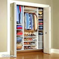how to build a closet shelf and rod how to build closet shelves clothes rods closet