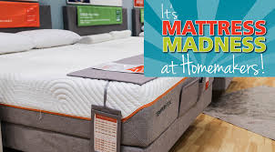 Its Mattress Madness at Homemakers Hm etc