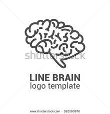 stock photo brain logo template outline brain icon business logo template 392560870 brain logo silhouette design vector template stock vector on science abstract template