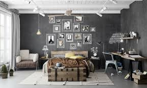 neutral colours are best in a masculine bedroom as they create a clean serene atmosphere