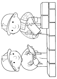 Small Picture Bob The Builder Coloring Pages Print Color Craft