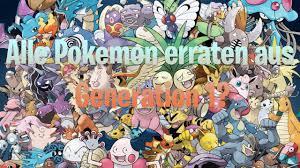 Pokemon Quiz Gen 1: Errate sie alle ! - YouTube