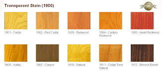 Wood Stain Cabot Wood Stain Colors