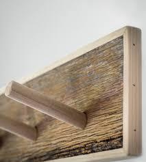 Coat Rack Board Reclaimed Wood Fence Board Coat Rack Features Reclaimed Wood 81