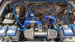 Landcruiser colorado prado 90 95 engine bay 3l intercooled turbo ...